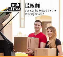 loading a car trunk with boxes