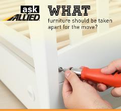 Taking apart furniture