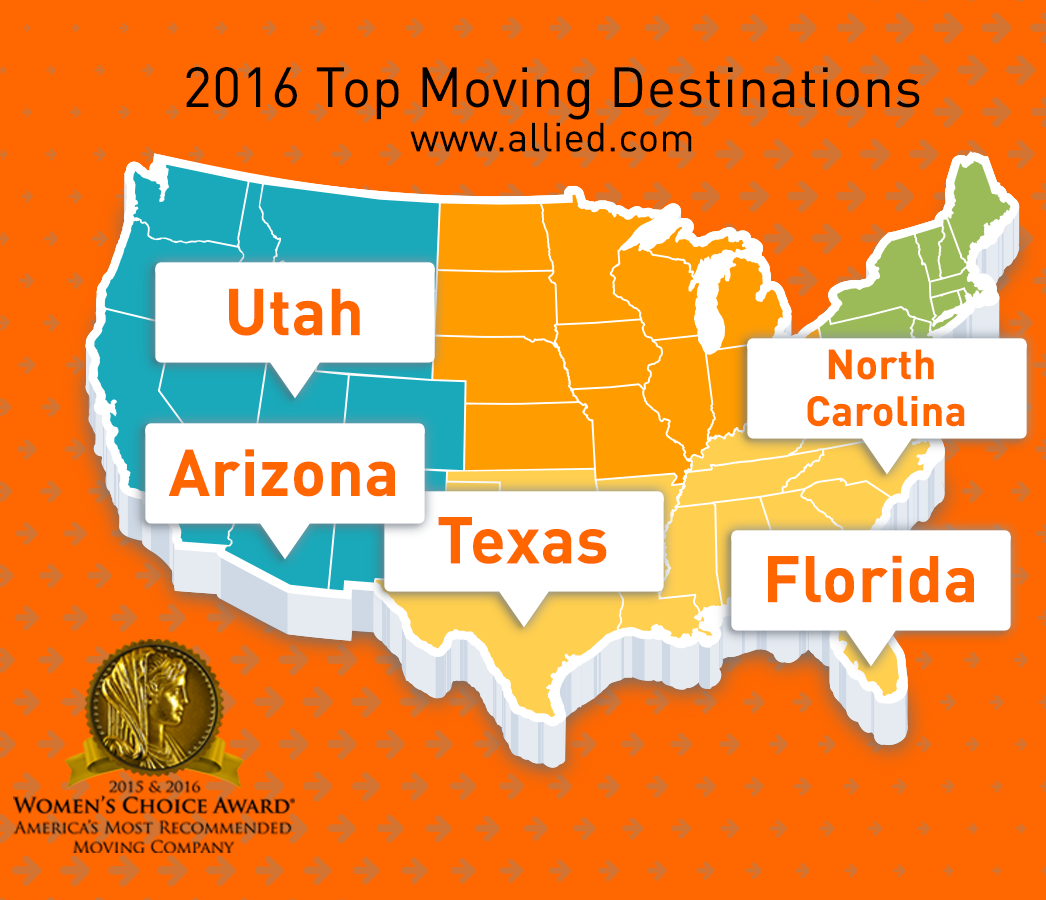 Top Moving Destinations