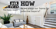 Ask Allied: How do I stage my home?