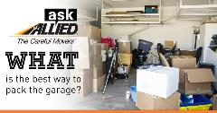 Ask Allied What the Best Way is to Pack Up Your Garage