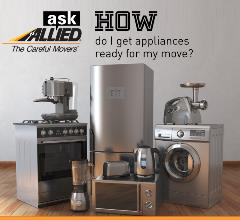 Learn how to get your appliances ready for a move