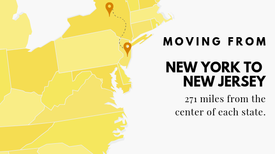 NYC to New Jersey
