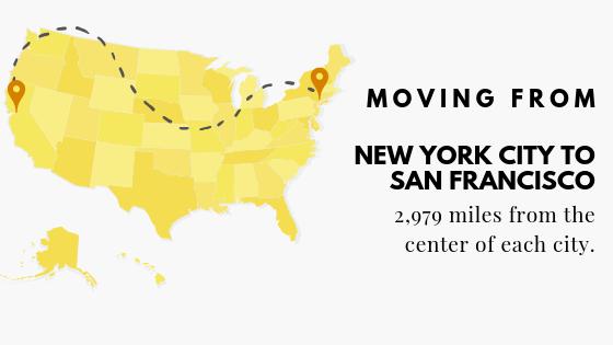 NYC to San Fran
