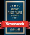 Newsweek 2020 Cusotmer Service Award