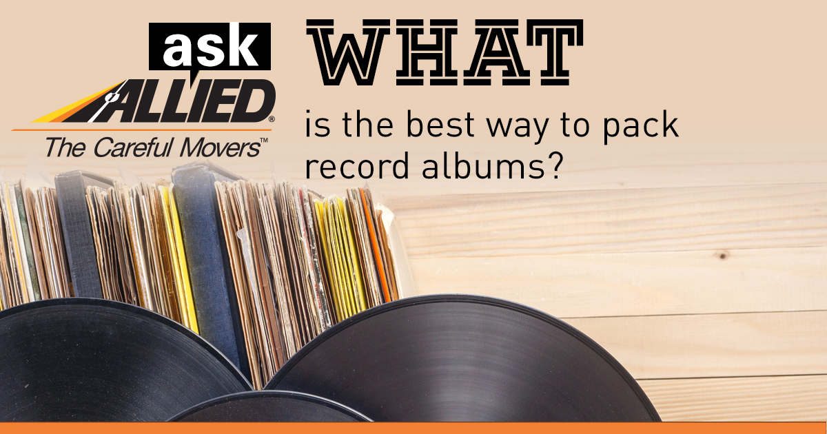 Ask Allied: What is the best way to pack record albums?