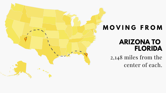 Moving From Arizona to Florida