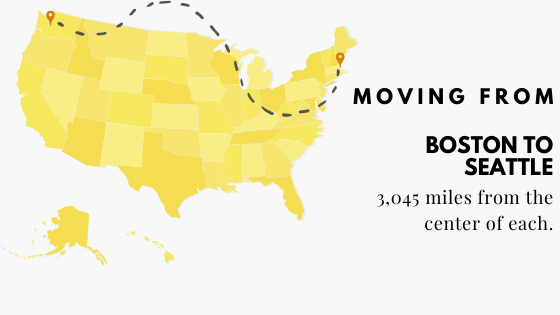 Moving from Boston to Seattle