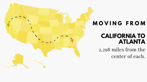 Moving from CA to Atlanta