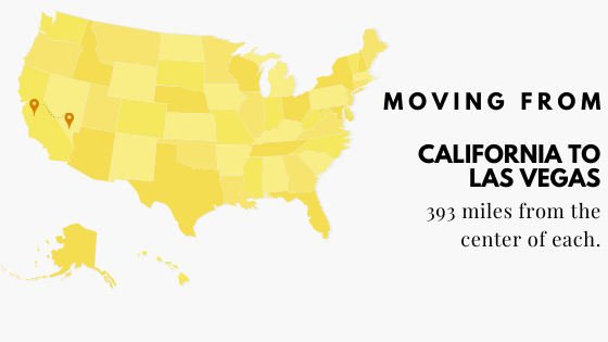 Moving: Cali to Vegas