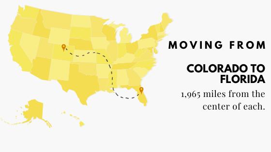 Colorado to Flordia