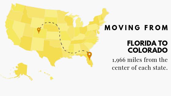 Moving FL to Colorado