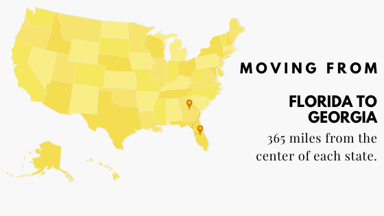 Moving: Florida to Georgia