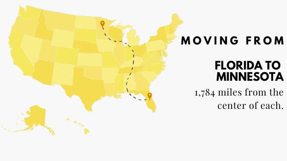 Moving from Florida to Minnesota