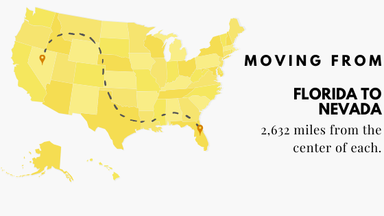Moving from Florida to Nevada