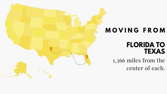 Florida to Texas Moving