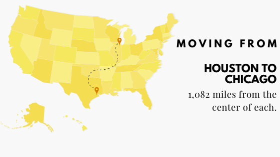 Moving from Houston to Chicago