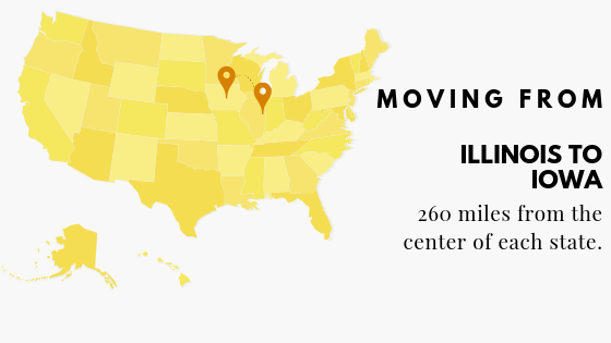 Moving to IA from IL