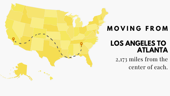 Moving to Atlanta from LA