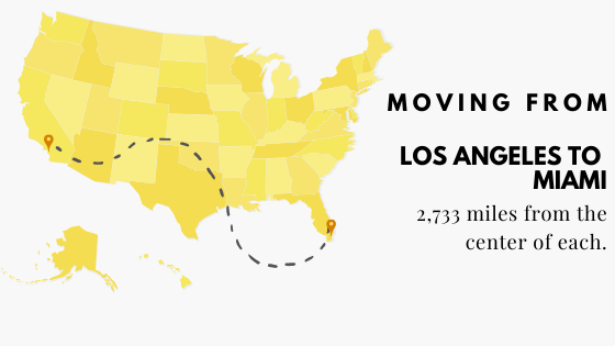 Moving from Los Angeles to Miami