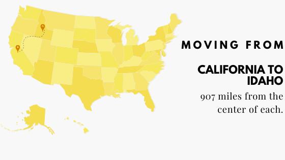 Moving from California to Idaho