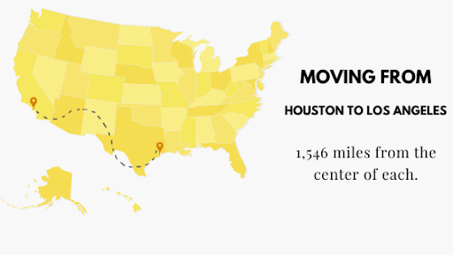 Moving from Houston to Los Angeles