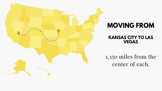 Moving from Kansas City to Las Vegas