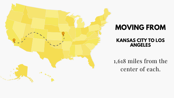 Moving from Kansas City to Los Angeles