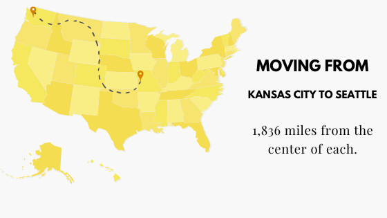 Moving from Kansas City to Seattle