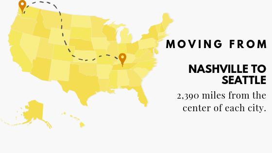 Nashville to Seattle