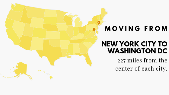 Move to DC from NYC