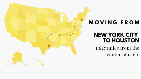 Moving from NYC to Houston