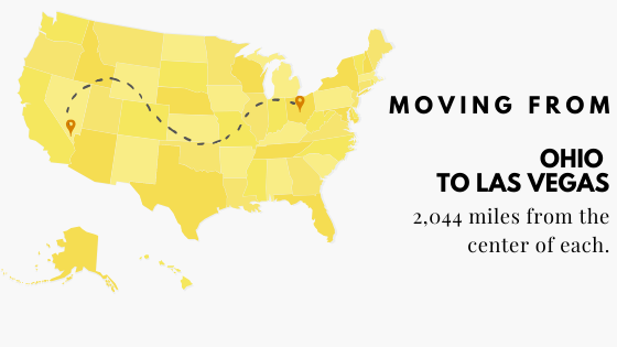 Moving from Ohio to Las Vegas