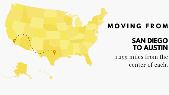 Moving to Austin from San Diego