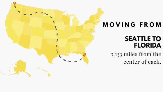 Moving from Seattte to Florida