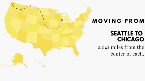 Moving from Seattle to Chicago