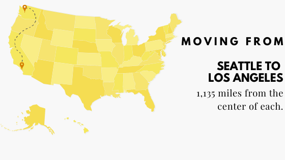 Moving to Los Angeles from Seattle