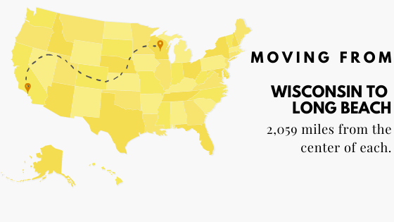 Moving to Long Beach from Wisconsin