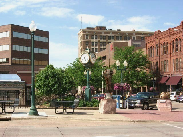 Downtown Sioux Falls, SD