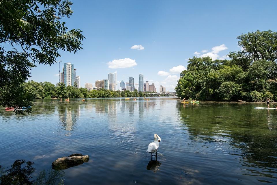 Lady Bird Lake in Austin, TX