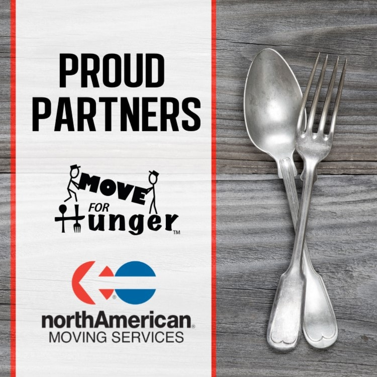 northAmerican® Van Lines and Move For Hunger Renew Partnership