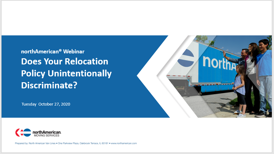 Oct Webinar: Does Your Relocation Policy Unintentionally Discriminate?