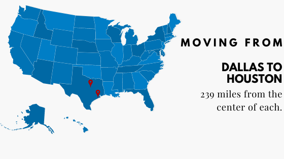 Moving to Houston From Dallas